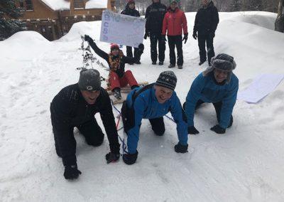 activité team building hiver fun plaisir