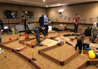 compétition team building intérieur activité